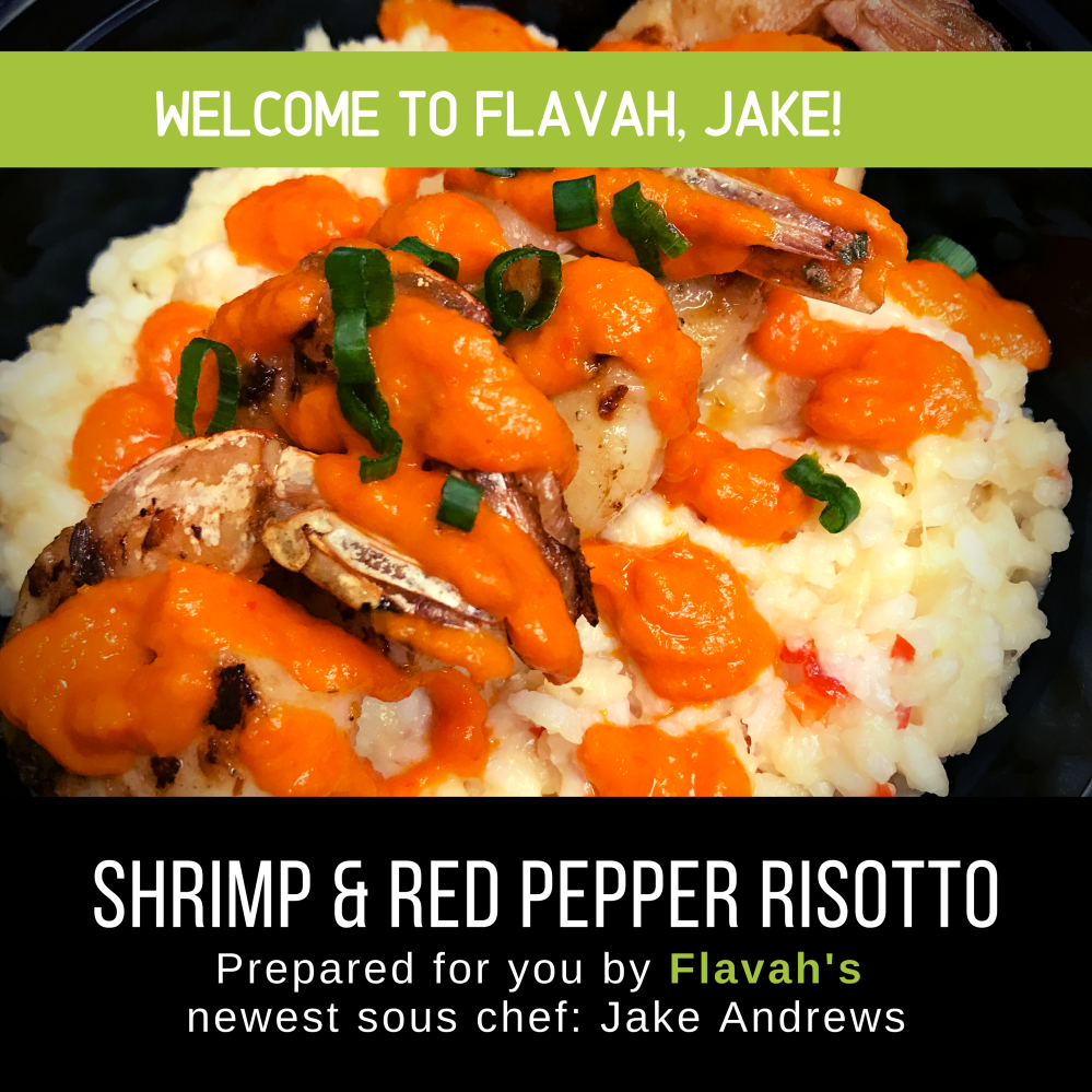 Shrimp & Red Pepper Risotto